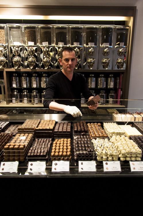Chocolatier Günther Watté Chocolade Café