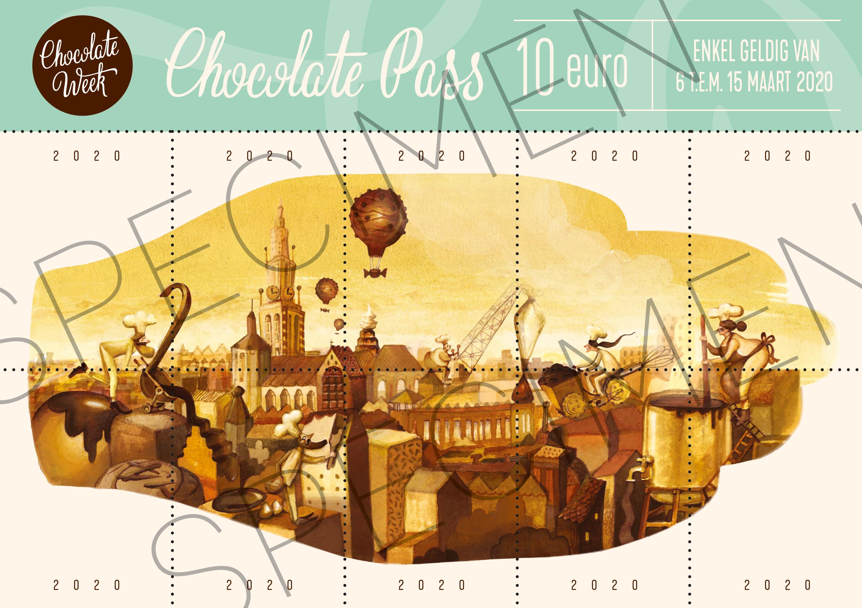chocolade pas